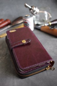 【6T】Leather iPhone Case