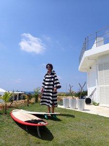 【SEA OF LOTUS】ポンチョタオル