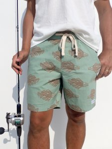 【BANKS JOURNAL 】SCALES BOARDSHORTS