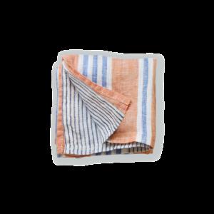 【Lino e Lina】Handkerchief  felice オレンジ
