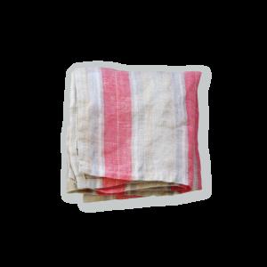 【Lino e Lina】Handkerchief  Serres ピンク