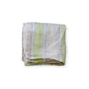 【Lino e Lina】Handkerchief  Serres グリーン