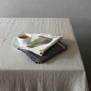 【Lino e Lina】Kitchen Cloth-Washed- Duo ブルー