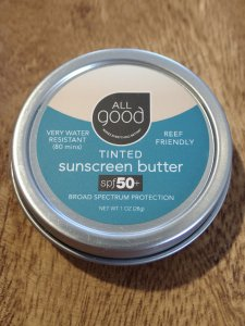 【ALL good】TINTED SUNSCREEN BUTTER spf50+