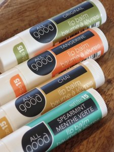 【ALL good】LIP BALMS spf15