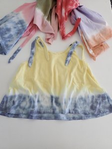 Kids Cotton Ribbon Tank