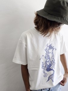 【miga】Mermaid & Anchor Tee