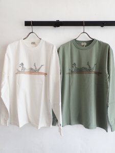 【TES】MALIBU GIRL LONG SLEEVE T-SHIRT