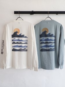 【TES】MOTEL PUTS THE SURF UK WAVE LONG SLEEVE T-SHIRT
