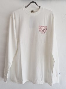 【TES】PURA VIDA! LONG SLEEVE T-SHIRT