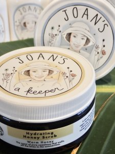 【JOAN'S A KEEPER】Hydrating Honey Scrub