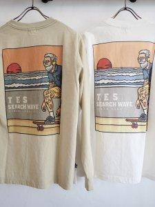 【TES】TES HURRICANE SURFER LONG SLEEVE T-SHIRT