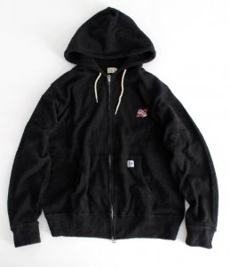 【TES】COMFORTABLE PILE RELAX ZIP PARKA