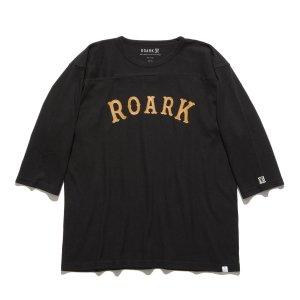 【ROARK】″MEDIEVAL LOGO″ FOOTBALL TEE