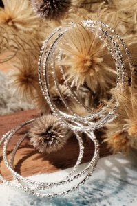 Silver Bubble Bracelet
