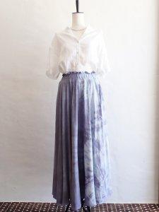 【I am...】Cotton  Flare Long Skirt