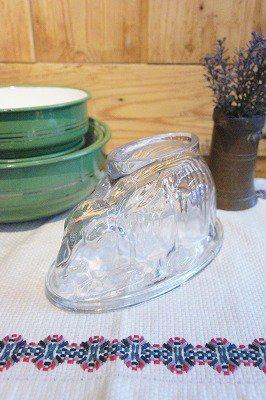 うさぎのガラスゼリーモールド (p-057)