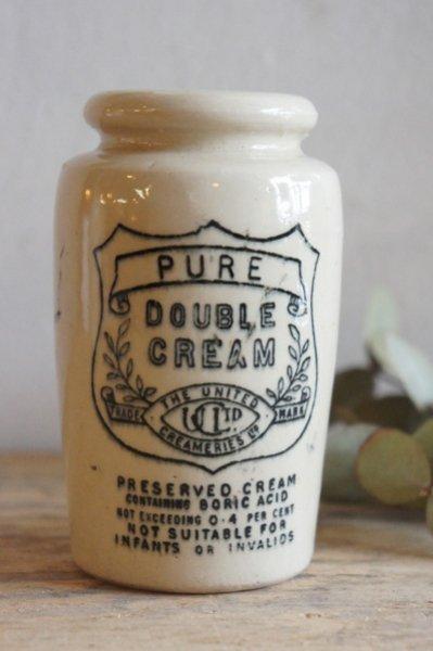 陶器クリームボトル(p-174)