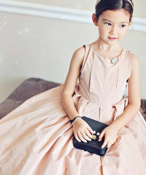 Annika ドレスワンピース (2color) 韓国子供服
