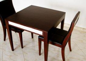 優美な曲線を描くエレガントなストーンカフェテーブル【DT-05】