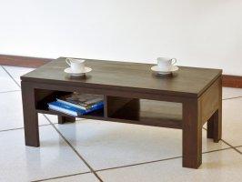 便利な棚板付きローテーブル カフェのような雰囲気に!オシャレ空間のお伴にぜひ!【AS-227】