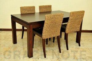 木目の美しさを生かすシンプルテーブル【DT-01】※受注後特別制作商品