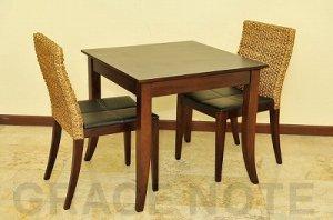 優美な曲線を描くエレガントなカフェテーブル【DT-03】※受注後特別制作商品