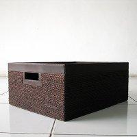 アジアン雑貨・アバカ収納ボックス【AB-009】