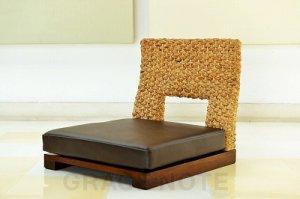 安らぎの指定席…ちょっと珍しいウォーターヒヤシンスの座椅子【WC-14】