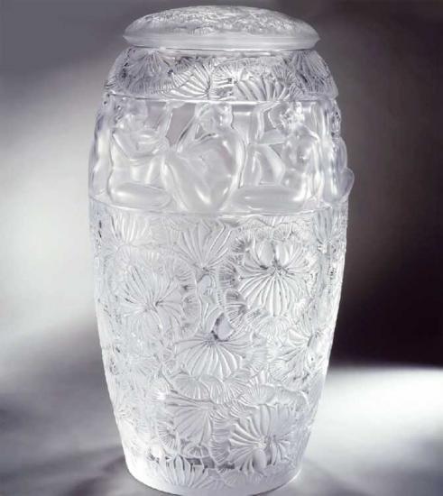 ラリックLalique 花瓶・花器 アンジェリーク Angelique
