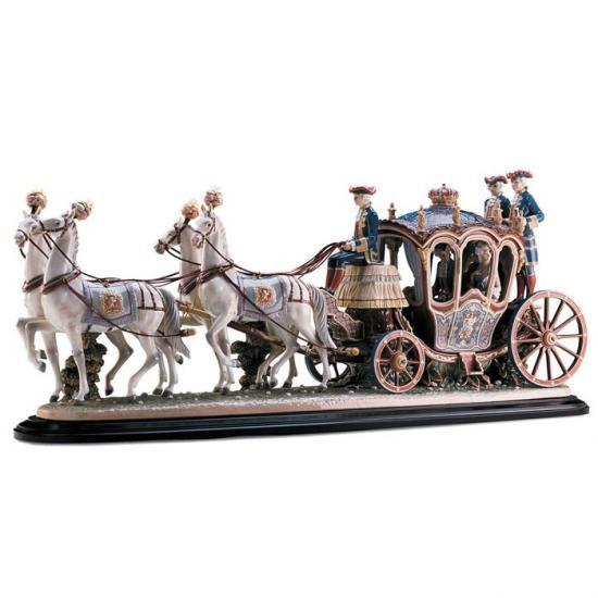 リヤドロ Lladro 限定500体 XVIIIth century coach