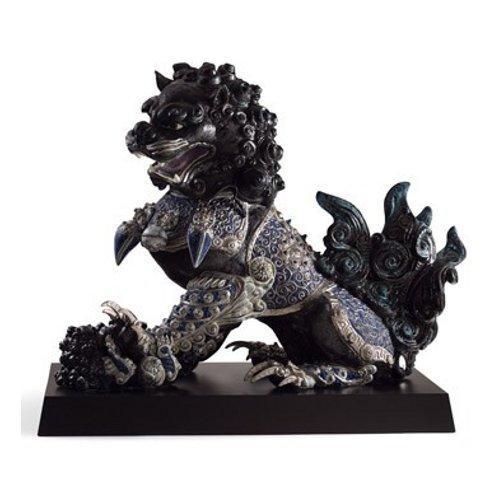 リヤドロ Lladro 世界限定188体 Guardian lioness, Black