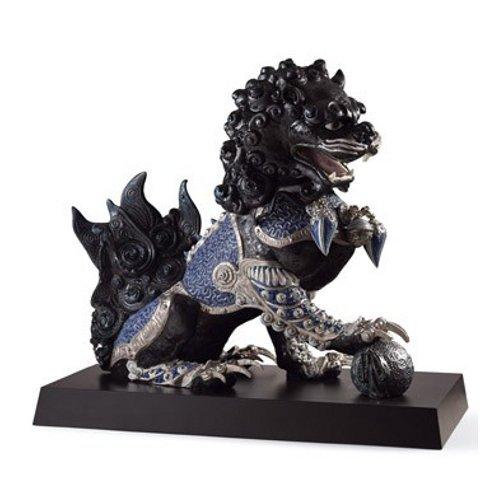 リヤドロ Lladro 世界限定188体 Guardian lion, Black