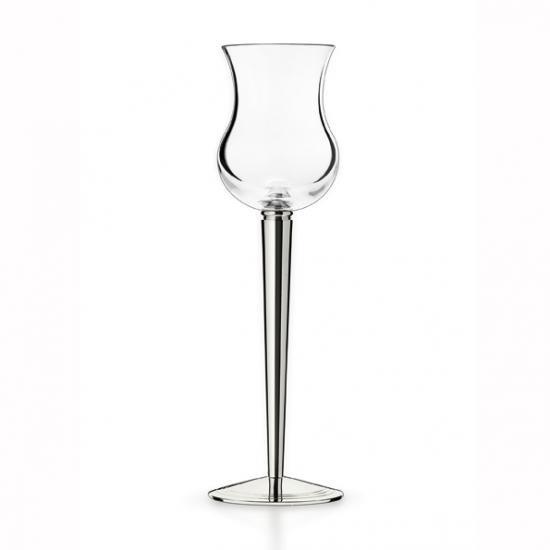 ピュイフォルカ シャンパーニュグラス シルバープレート  PUIFORCAT  Champagne glass silverplated