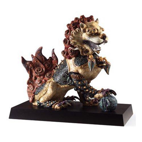 リヤドロ Lladro 世界限定188体 Guardian lion, Red