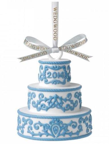 ウェッジウッド アニュアルオーナメント2014 ファーストイヤー ケーキ