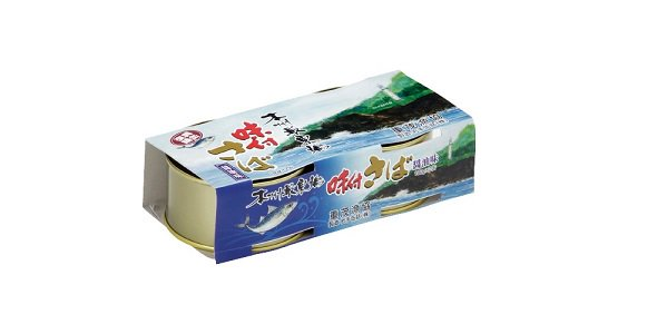 重茂のさば味付缶(醤油)2缶組