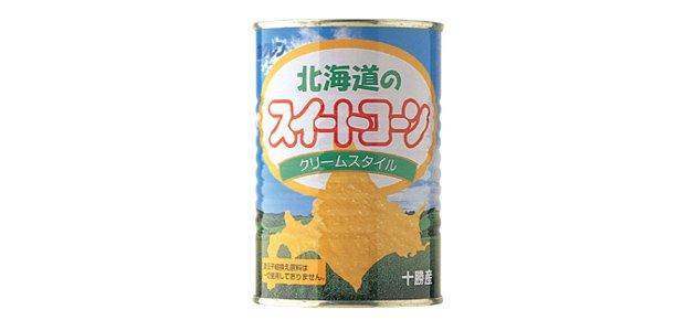 スイートコーン缶クリーム状