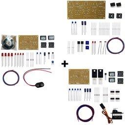 標準品第1種自動踏切キット(4遮断機)動作セット(CDS式)