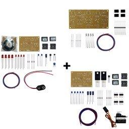 標準品第1種自動踏切キット(4遮断機)動作セット(軌道回路式)