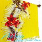 パレオ 大判 サラサ-096 かわいい おしゃれ 更紗  タヒチアン ハワイアンの画像