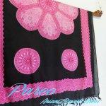 パレオ 大判 タヒチアンダンス サラサ-047 更紗 布の画像