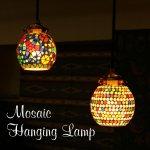 モザイクハンギングランプ サークル (シーリングライト60W)の画像