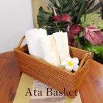 アタ   CDボックス ハンドルL アジアン雑貨 バリ雑貨 の画像