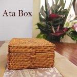 アタ スクエアボックス  アジアン雑貨 バリ雑貨 の画像