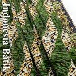 インドネシア バティック−032 ろうけつ染め の画像