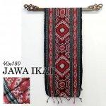 ジャワイカット40x180-019 バリ 布 織物の画像
