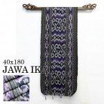 ジャワイカット40x180-006 バリ 布 織物の画像