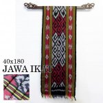 ジャワイカット40x180-001 バリ 布 織物の画像