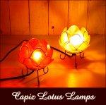 アジアンランプ インテリア照明 カピスロータスランプSの画像